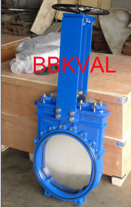 Cast Iron Knife Gate Valve Non Rising Stem pictures & photos