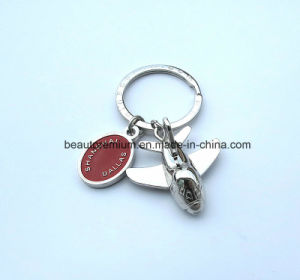 Fashion Custome Metal Bird Shape Keychain with Black Gift Box BPS0171