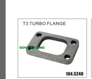 Auto Stainless Steel Exhaust T3 Turbo Flange Outlet pictures & photos