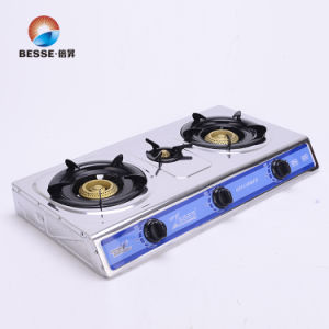 Popular Gas Stove, Threes Burners, Stainless Steel pictures & photos