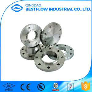 2017 Hot Sale Carbon Steel Forged Blank Flange pictures & photos