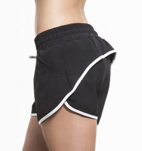 Compression Apparel Custom Logo Gym Clothing Stretch Womens Shorts pictures & photos