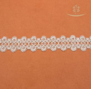 New Design Mutil-Color Milk-Yard Daisy Flower Lace Trimming Custom for Garment pictures & photos