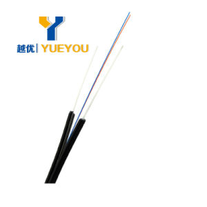 Outdoor/Indoor FTTH 2 Cores G657A Fiber Optic Cable