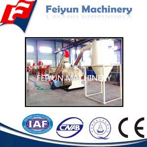 500kg/H Waste Plastic PE Film Washing Production Line