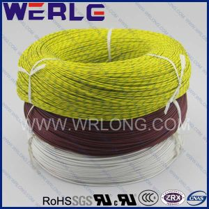 UL 3122 AWG 10 Silicone Fiberglass Braided Single Conductor Wire pictures & photos