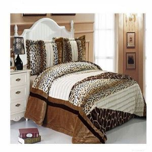 2015 Hot-Selling Luxury Patchwork Quilt Bedding Set (SH4070-1)