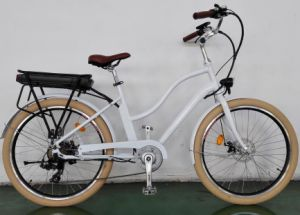 Retro Electric Bike for Lady