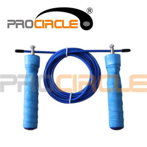 New Design Professional Adjustable Cable Wire Jump Rope (PC-JR1096) pictures & photos