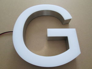 Metal Aluminum Stainless Steel Fabricated Brass Titanium Acrylic Frontlit 3D Dimensional LED Channel Letter pictures & photos