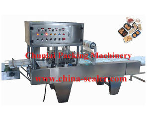 Automatic Bean Curd Box Sealing Machine pictures & photos