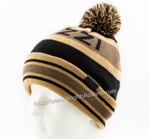 100%Acrylic Knitted Beanie, Knitting Knitted Hat pictures & photos