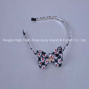 Black, White Flowers, Head Hoop, Hair Accessory, Elegant Temperament