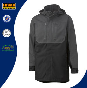 Russia Cold Weather Long Style Winter Waterproof Windproof Padded Work Jacket