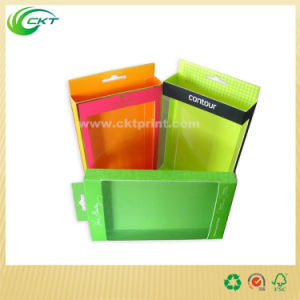 Paper Material Hanger Packaging Box with Clear Display Window (CKT-PB-016)