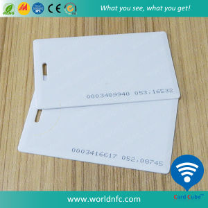 Factory Price 125kHz Em4305 PVC Thick RFID Smart ID Card pictures & photos