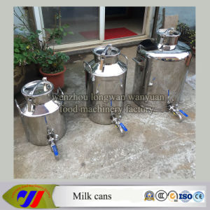 Stainless Steel Milk Churn 100 Liters Milk Pail with Tap pictures & photos