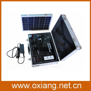 500W Solar Energy Portable Solar Power Generator Solar Power Source 220V