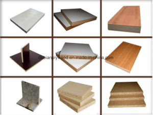 Nature Veneer or Melamine Paper Face 16-18mm Block Board for Furniture pictures & photos