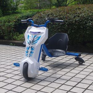 Factory Selling 100W Trike Drift Electric Pocket Bike Mini Kids Car 3 Wheels Motorcycles (JY-ES002) pictures & photos