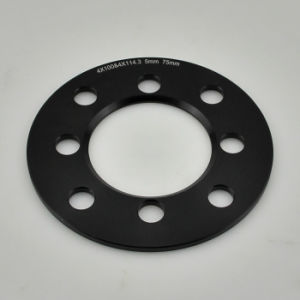 Cheap Chinese CNC Machined Milled Anodized Black Wheel Spacer