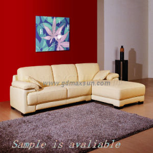 Luxury Home Furniture Coner Leather Sofa (MSF-k6006)