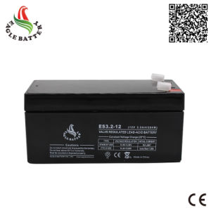 12V 3.2ah AGM Rechargeable Lead Acid Battery for UPS