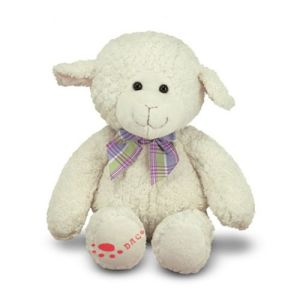 Plush Ultra-Soft White Sheep