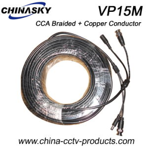 15 Meters CCA and Copper Pre-Made Camera Cable (VP15M) pictures & photos