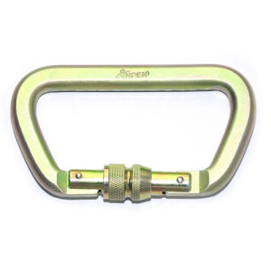 Cheap Stainless Steel Carabiner, Safety D Shape Carabiner