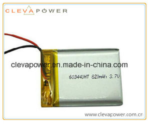 Li-Polymer Rechargeable Battery with 3.7V/820mAh for GPS Tracing System