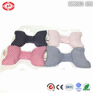 Baby Bow Shape Cotton Fabric Stuffed Soft Head Support Pillow pictures & photos