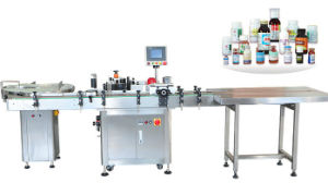 High Speed Automatic Pharmaceutical Medicine Small Bottle Sticker Labeller pictures & photos