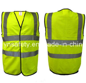Yellow Mesh Reflective Clothing with En20471 pictures & photos