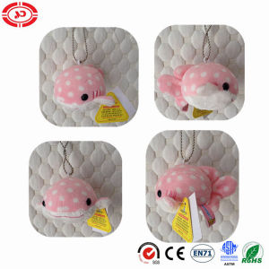 Small Pink Fish Sea Animal Plush Soft Toy Keychain Gift pictures & photos