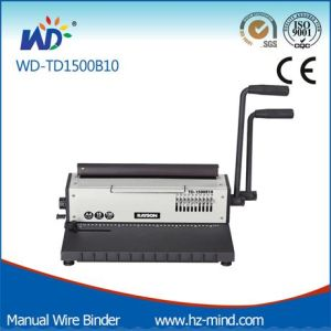 Manual Wire Binding Machine (WD-TD1500B10) pictures & photos