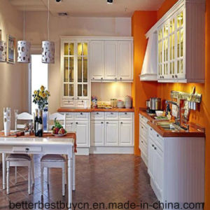 Fashionable Design Solid Wood Kitchen Cabinet pictures & photos
