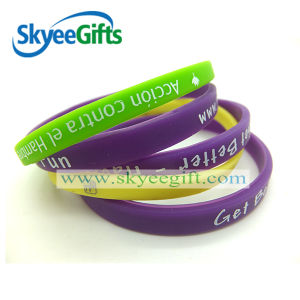 2016 Cheap Popular Sports Silicone Bracelet for Exercise pictures & photos