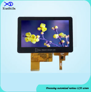 Full Viewing Angle 5.0 Inch TFT LCD Display with Capacitive Touch Panel pictures & photos