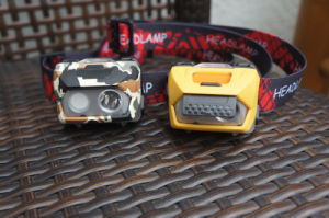 Super Bright Portable Headlamp Rechargeable USB Battery