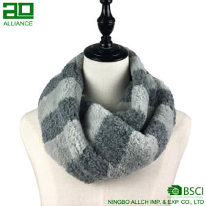 Winter Faux Fur Snood Scarf