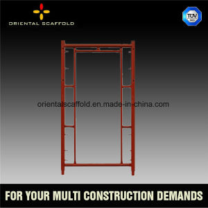 Painted Ladder Scaffolding Frame pictures & photos