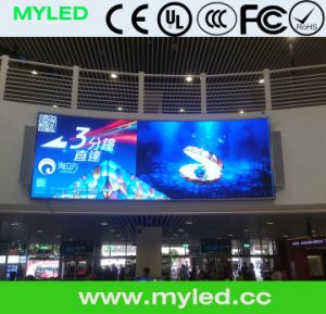 Panel P10 LED Display 960mm X 960mm with Die-Casting Aluminum Cabinet