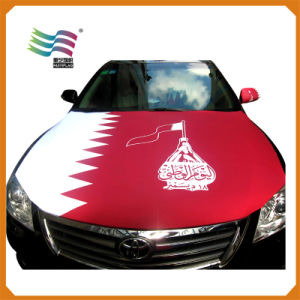 Polyester Pringting National Car Hood Cover Flag (HYCH-AF020) pictures & photos