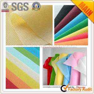 100% PP Spunbond Nonwoven Textile Fabric pictures & photos