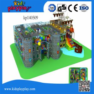Castle Series Indoor Kids Party Playground Equipment with Pirate Ship pictures & photos