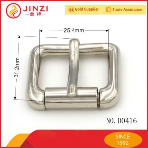 Different Color Plating Roller Pin Belt Buckles pictures & photos