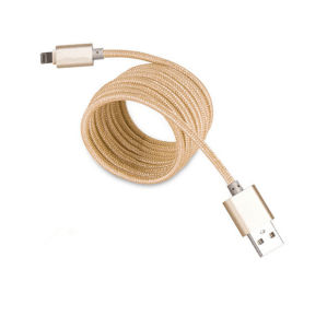 Lightning Charger Nylon Covered Charging USB Data Cable pictures & photos