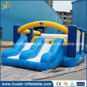 New Design Inflatable Mini Boucer with Slide for Sale