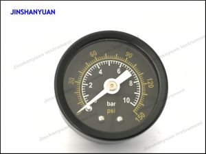 Gpg-003 Axial Mounted Black Steel Ordinary Pressure Gauge pictures & photos